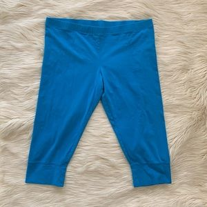 Xhilaration Sleep Leggings Sleep Pants, Blue, XL